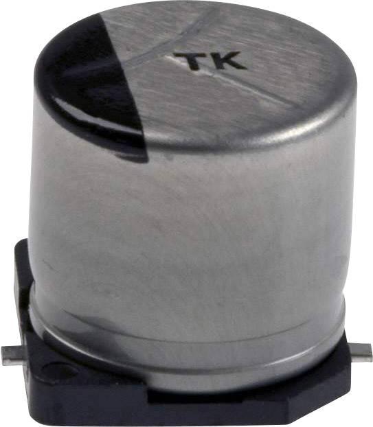 Elektrolytický kondenzátor Panasonic EEE-TPA331UAP, SMD, 330 µF, 10 V, 20 %, 1 ks