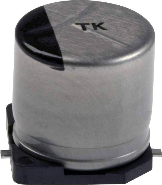 Elektrolytický kondenzátor Panasonic EEE-TPC101XAP, SMD, 100 µF, 16 V, 20 %, 1 ks