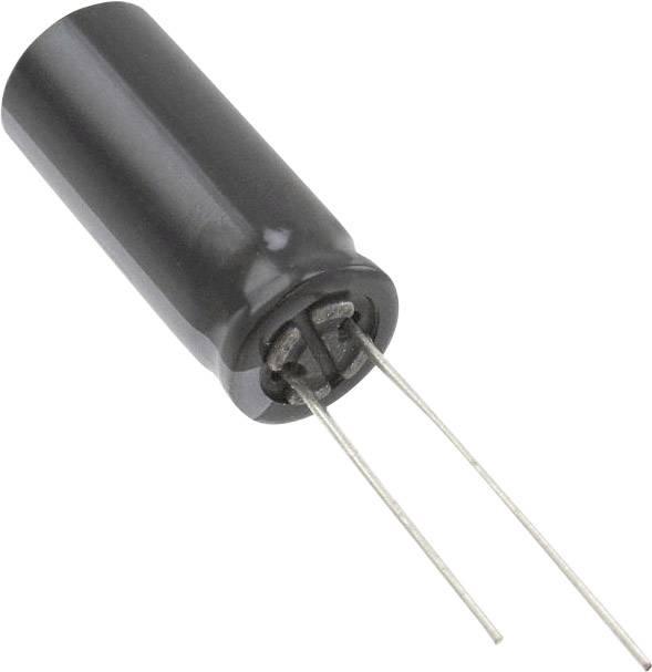 Elektrolytický kondenzátor Panasonic EEU-FR1E222L, radiálne vývody, 2200 µF, 25 V, 20 %, 1 ks