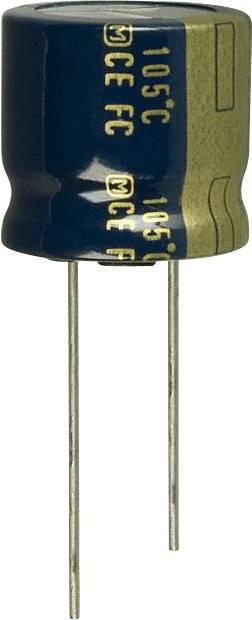 Elektrolytický kondenzátor Panasonic EEU-FC1J391S, radiálne vývody, 390 µF, 63 V, 20 %, 1 ks