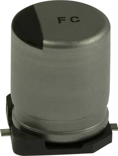 Elektrolytický kondenzátor Panasonic EEE-FC1A221AP, SMD, 220 µF, 10 V, 20 %, 1 ks