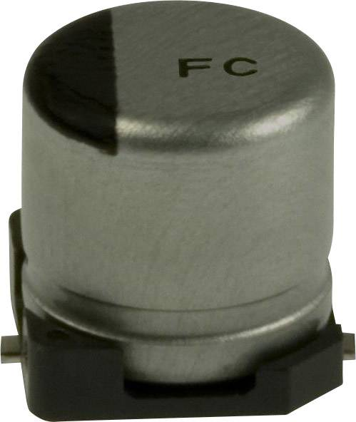 Elektrolytický kondenzátor Panasonic EEE-FC0J470R, SMD, 47 µF, 6.3 V, 20 %, 1 ks