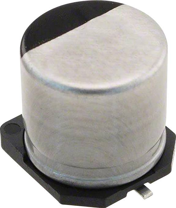 Elektrolytický kondenzátor Panasonic EEE-TP1E221AP, SMD, 220 µF, 25 V, 20 %, 1 ks