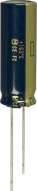 Elektrolytický kondenzátor Panasonic EEU-FC1J681L, radiálne vývody, 680 µF, 63 V, 20 %, 1 ks