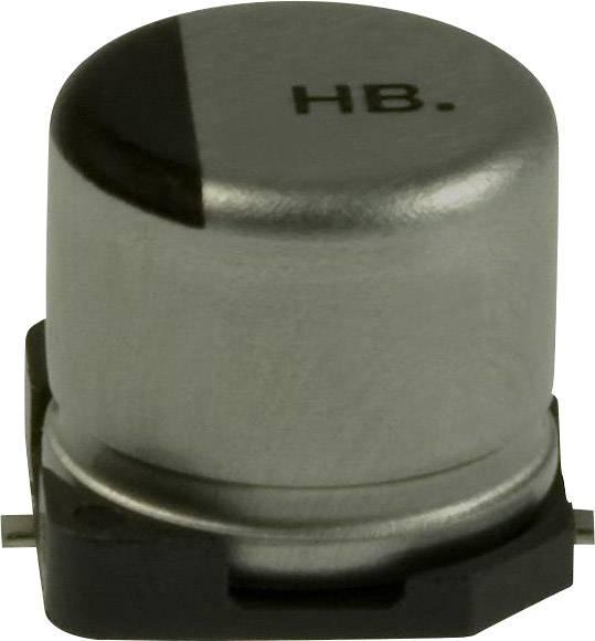 Elektrolytický kondenzátor Panasonic EEV-HB1E220P, SMD, 22 µF, 25 V, 20 %, 1 ks
