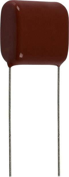 Panasonic ECQ-E2475KB radiálne vývody, 4.7 µF, 250 V/DC,10 %, 17.5 mm, (d x š) 20.8 mm x 11.9 mm, 1 ks