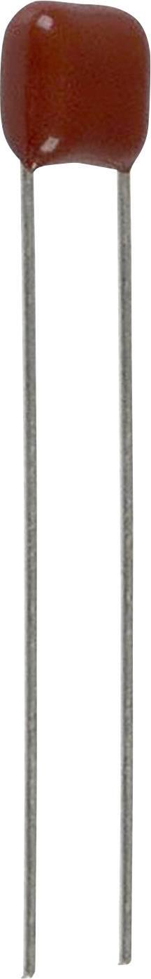 Fóliový kondenzátor Panasonic ECQ-E2154KF radiální, 0.15 µF, 250 V/DC,10 %, 10 mm, (d x š) 10.3 mm x 6 mm, 1 ks