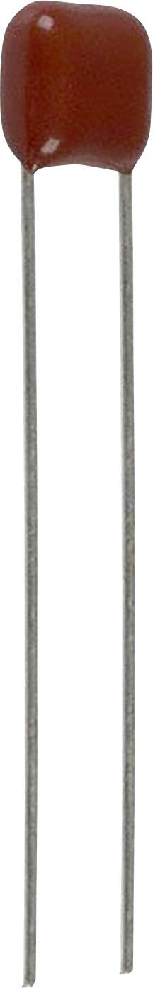 Fóliový kondenzátor Panasonic ECQ-E2393JB radiální, 0.039 µF, 250 V/DC,5 %, 5 mm, (d x š) 7.9 mm x 4.5 mm, 1 ks