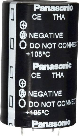 Elektrolytický kondenzátor Panasonic ECE-T1CA823FA, Snap In, 82000 µF, 16 V, 20 %, 1 ks