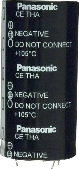 Elektrolytický kondenzátor Panasonic ECE-T1CA124FA, Snap In, 120000 µF, 16 V, 20 %, 1 ks