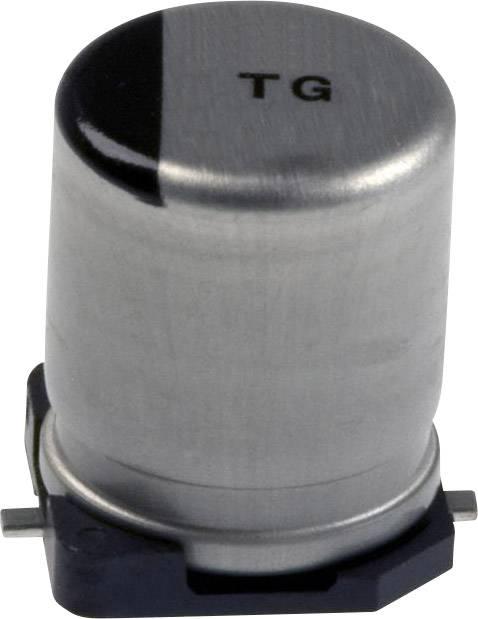 Elektrolytický kondenzátor Panasonic EEV-TG1A221P, SMD, 220 µF, 10 V, 20 %, 1 ks