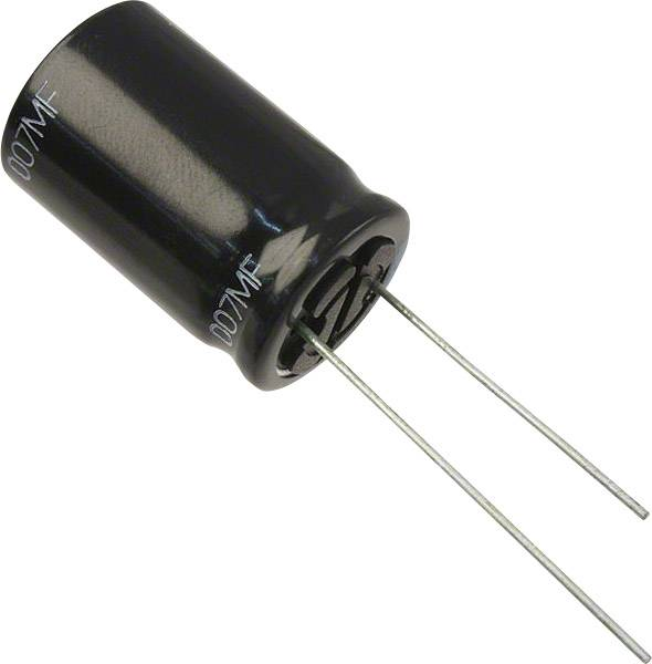 Elektrolytický kondenzátor Panasonic EEU-FR1J271L, radiálne vývody, 270 µF, 63 V, 20 %, 1 ks