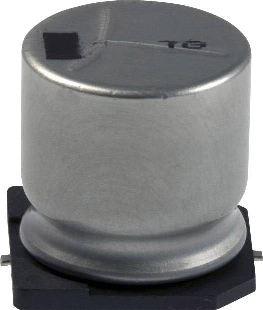 Elektrolytický kondenzátor Panasonic EEV-TG1A332UM, SMD, 3300 µF, 10 V, 20 %, 1 ks
