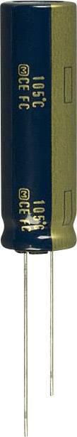 Elektrolytický kondenzátor Panasonic EEU-FC1J821L, radiálne vývody, 820 µF, 63 V, 20 %, 1 ks
