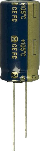 Elektrolytický kondenzátor Panasonic EEU-FC1J122, radiální, 1200 µF, 63 V, 20 %, 1 ks