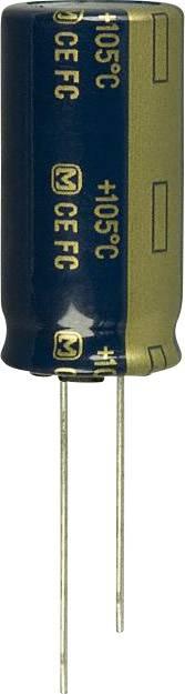 Elektrolytický kondenzátor Panasonic EEU-FC1J821, radiálne vývody, 820 µF, 63 V, 20 %, 1 ks