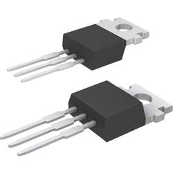 Výkonový tranzistor MOSFET, International Rectifier IRF9540N, kanál P, TO 220, 0,117 Ω, 100 V, -23 A