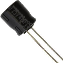 Elektrolytický kondenzátor Panasonic ECE-A1EKA470, radiálne vývody, 47 µF, 25 V, 20 %, 1 ks