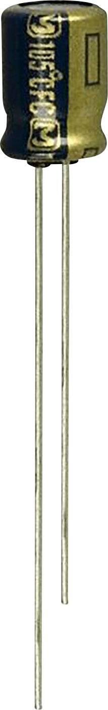 Elektrolytický kondenzátor Panasonic EEA-FC1E220, radiálne vývody, 22 µF, 25 V, 20 %, 1 ks