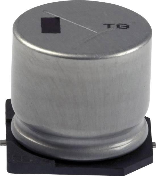 Elektrolytický kondenzátor Panasonic EEV-TG2A221M, SMD, 220 µF, 100 V, 20 %, 1 ks