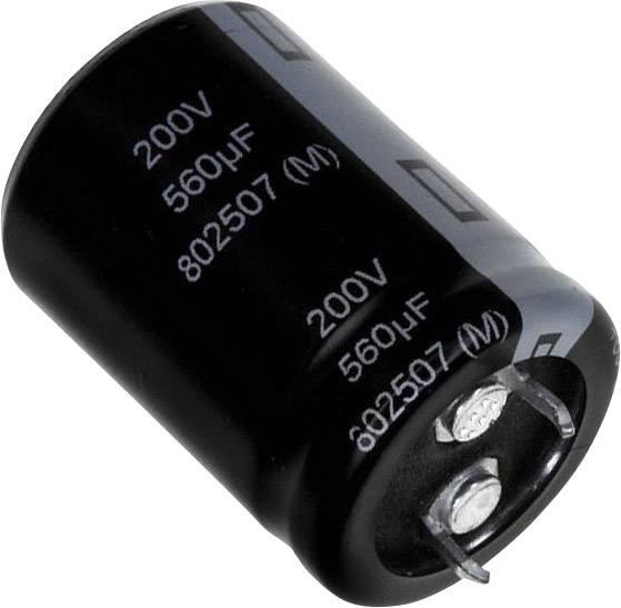 Elektrolytický kondenzátor Panasonic EET-UQ2D561BA, Snap In, 560 µF, 200 V, 20 %, 1 ks