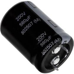 Elektrolytický kondenzátor Panasonic EET-UQ2W271BA, Snap In, 270 µF, 450 V, 20 %, 1 ks