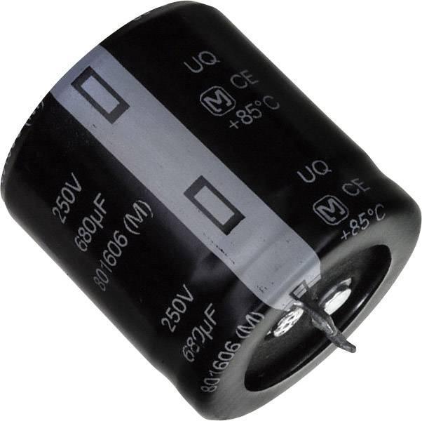Elektrolytický kondenzátor Panasonic EET-UQ2E681KA, Snap In, 680 µF, 250 V, 20 %, 1 ks