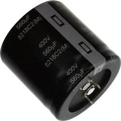 Elektrolytický kondenzátor Panasonic EET-UQ2G561EA, Snap In, 560 µF, 400 V, 20 %, 1 ks
