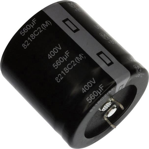 Elektrolytický kondenzátor Panasonic EET-UQ2V561EA, Snap In, 560 µF, 350 V, 20 %, 1 ks