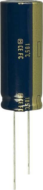 Elektrolytický kondenzátor Panasonic EEU-FC1C682, radiálne vývody, 6800 µF, 16 V, 20 %, 1 ks