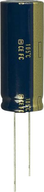 Elektrolytický kondenzátor Panasonic EEU-FC1J122L, radiálne vývody, 1200 µF, 63 V, 20 %, 1 ks