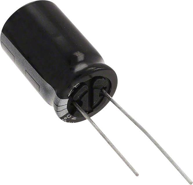 Elektrolytický kondenzátor Panasonic ECA-1JHG102, radiálne vývody, 1000 µF, 63 V, 20 %, 1 ks