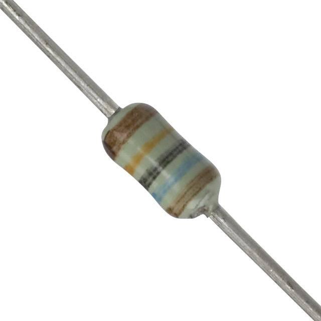 Kovový rezistor Panasonic ERO-S2PHF1603, axiálne vývody, 160 kOhm, 0.25 W, 1 %, 1 ks