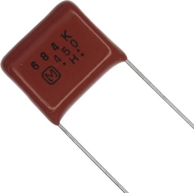 Fóliový kondenzátor Panasonic ECQ-E2W684KH radiální, 0.68 µF, 450 V/DC,10 %, 15 mm, (d x š) 18.2 mm x 6.9 mm, 1 ks