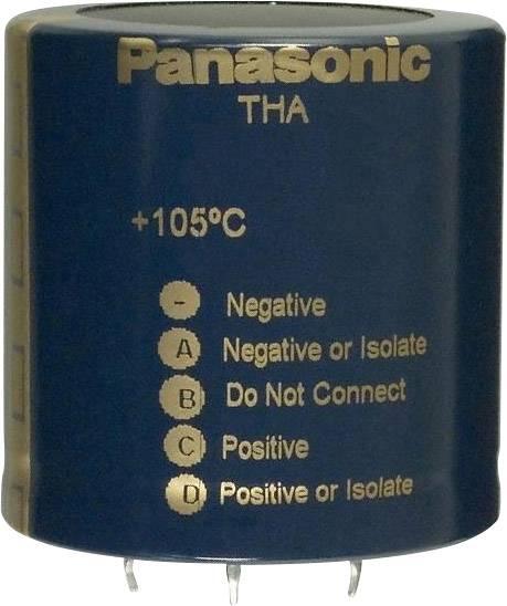 Elektrolytický kondenzátor Panasonic ECE-T2VA681EA, Snap In, 680 µF, 350 V, 20 %, 1 ks