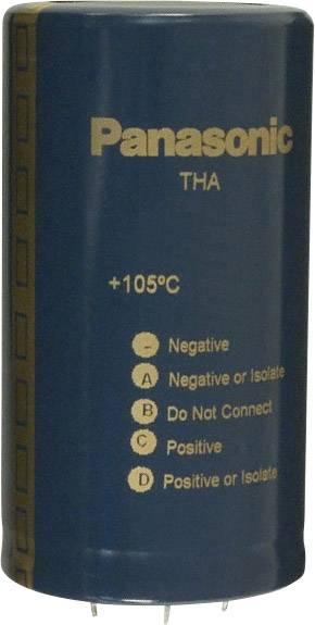 Elektrolytický kondenzátor Panasonic ECE-P2WA132HA, Snap In, 1300 µF, 450 V, 20 %, 1 ks