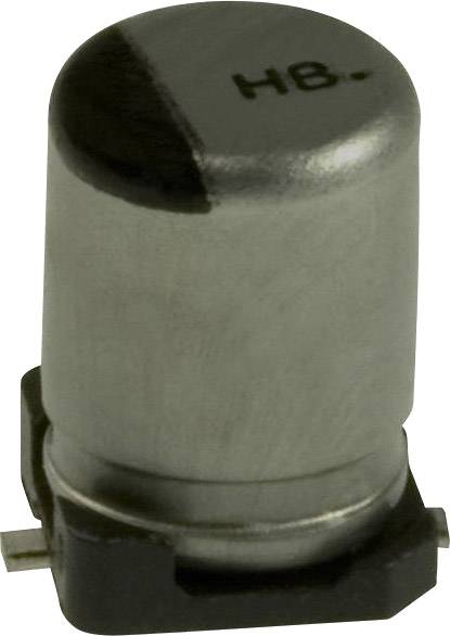 Elektrolytický kondenzátor Panasonic EEV-HB0G470R, SMD, 47 µF, 4 V, 20 %, 1 ks