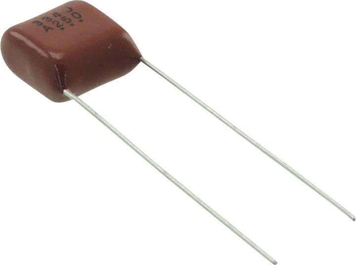 Panasonic ECQ-E2474JB radiálne vývody, 0.47 µF, 250 V/DC,5 %, 10 mm, (d x š) 12.3 mm x 6.2 mm, 1 ks