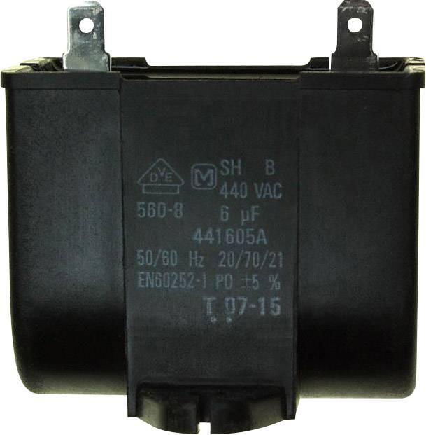 Fóliový kondenzátor Panasonic DS441605-BA 6 µF, 440 V/AC,10 %, (d x š) 50 mm x 30.5 mm, 1 ks