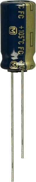 Elektrolytický kondenzátor Panasonic EEU-FC1V221L, radiálne vývody, 220 µF, 35 V, 20 %, 1 ks
