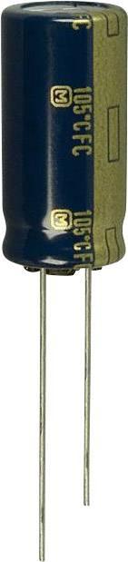 Elektrolytický kondenzátor Panasonic EEU-FC1H221, radiálne vývody, 220 µF, 50 V, 20 %, 1 ks