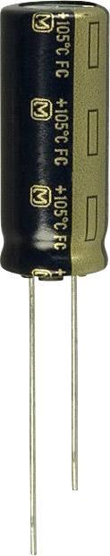 Elektrolytický kondenzátor Panasonic EEU-FC1J221, radiálne vývody, 220 µF, 63 V, 20 %, 1 ks