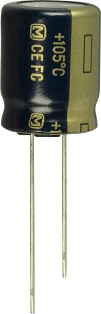 Elektrolytický kondenzátor Panasonic EEU-FC1E222S, radiálne vývody, 2200 µF, 25 V, 20 %, 1 ks