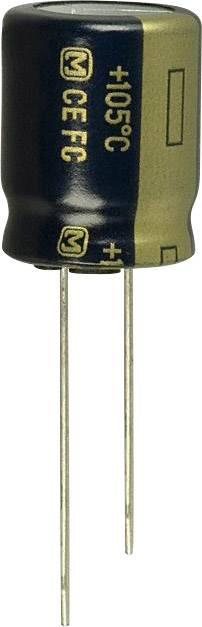 Elektrolytický kondenzátor Panasonic EEU-FC1J820, radiálne vývody, 82 µF, 63 V, 20 %, 1 ks