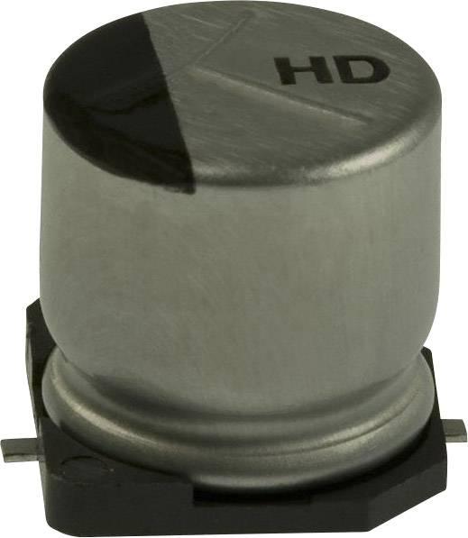 Elektrolytický kondenzátor Panasonic EEE-HD1J100P, SMD, 10 µF, 63 V, 20 %, 1 ks