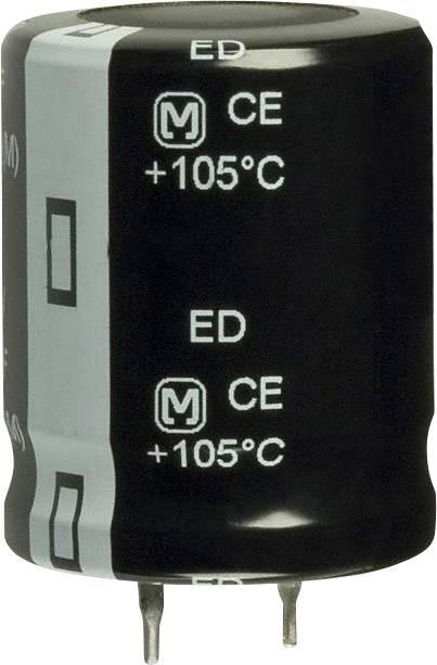 Elektrolytický kondenzátor Panasonic EET-ED2E391CA, Snap In, 390 µF, 250 V, 20 %, 1 ks