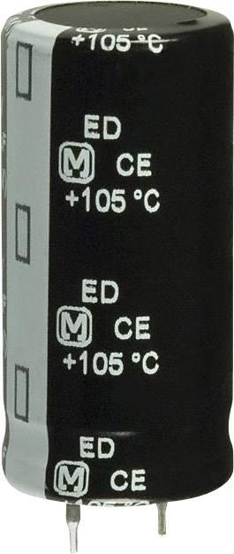Elektrolytický kondenzátor Panasonic EET-ED2G181BA, Snap In, 180 µF, 400 V, 20 %, 1 ks