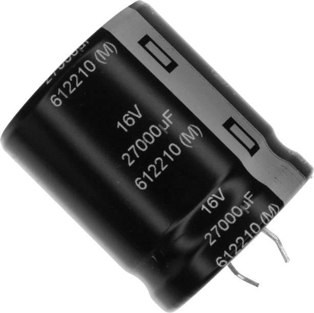 Elektrolytický kondenzátor Panasonic ECO-S1CP273DA, Snap In, 27000 µF, 16 V, 20 %, 1 ks
