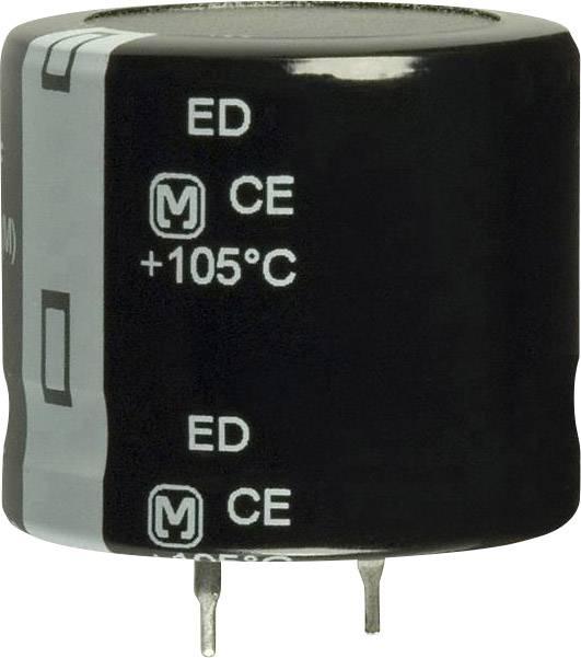 Elektrolytický kondenzátor Panasonic EET-ED2W121DA, Snap In, 120 µF, 450 V, 20 %, 1 ks