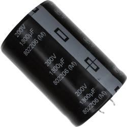 Elektrolytický kondenzátor Panasonic EET-UQ2D182KA, Snap In, 1800 µF, 200 V, 20 %, 1 ks